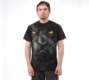 Футболка The Mountain Black Panther Face - Морда черной пантеры
