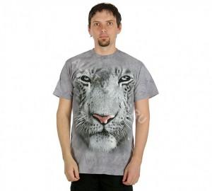 Футболка The Mountain White Tiger Face - Морда белого тигра