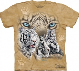 Футболка The Mountain Find 12 Tigers - Найди 12 тигров