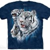 Футболка The Mountain Find 9 White Tigers - Найди 9 Тигров