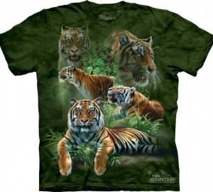 Футболка The Mountain Jungle Tigers - Тигры в джунглях