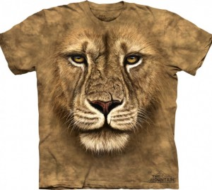 Футболка The Mountain Lion Warrior - Лев воин