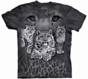 Футболка The Mountain Snow Leopards - Снежный леопард (Ирбис)