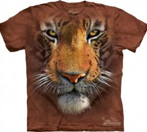 Футболка The Mountain Tiger Face - Морда тигра