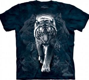 Футболка The Mountain White Tiger Stalk - Белый тигр
