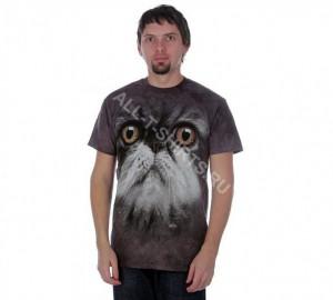 Футболка The Mountain Furry Face - Морда пушистого кота