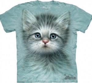 Футболка The Mountain Blue Eyed Kitten - Котенок с голубыми глазами