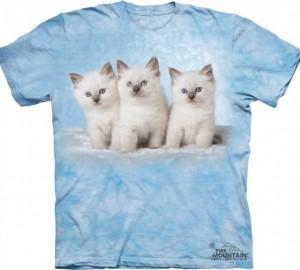 Футболка The Mountain Cloud Kittens - Котята На Облаке