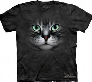 Футболка The Mountain Emerald Eyes - Кошка с изумрудными глазами