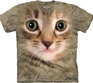 Футболка The Mountain Kitten Face - Морда кошки