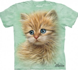 Футболка The Mountain Kitten Portrait - Морда котенка