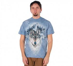 Футболка The Mountain Blue Moon Wolves
