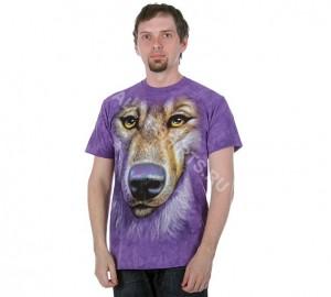 Футболка The Mountain Friendly Wolf Face - Морда дружелюбного волка
