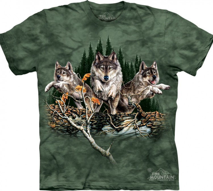 Футболка The Mountain Find 12 Wolves - Найди 12 волков