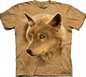 Футболка The Mountain Golden Eyes - Волк с золотыми глазами