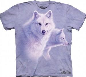 Футболка The Mountain Graceful White Wolves - Белые волки