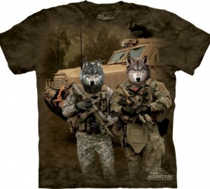 Футболка The Mountain JTAC Wolfpack - Волчья стая
