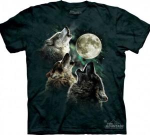 Футболка The Mountain Three Wolf Moon - Три воющих на луну волка