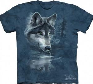 Футболка The Mountain Wolf Reflection - Отражение волка
