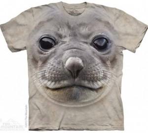 Футболка The Mountain Big Face Seal - Мордочка Тюленя