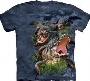 Футболка The Mountain Gator Bog - Аллигаторы в болоте