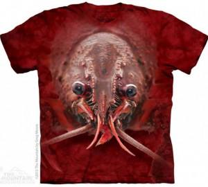 Футболка The Mountain Lobster Face - Морда Лобстера