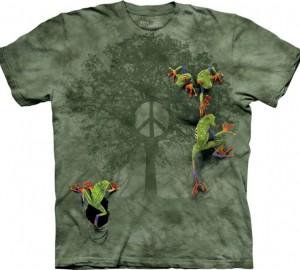 Футболка The Mountain Peace Tree Frog - Лягушки на дереве