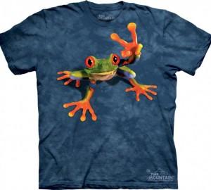 Футболка The Mountain Victory Frog - Лягушка показывающая символ виктори