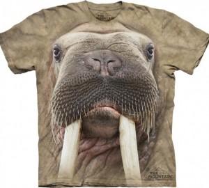 Футболка The Mountain Walrus Face - Морда моржа