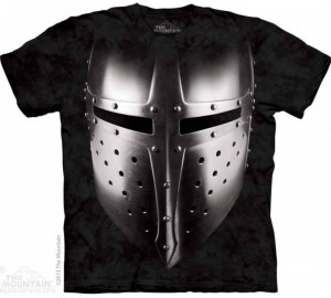 Футболка The Mountain Big Face Armor - Рыцарский Шлем