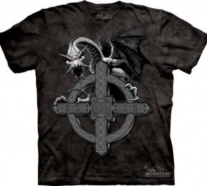 Футболка The Mountain Celtic Cross Dragon