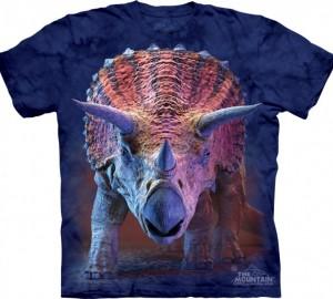Футболка The Mountain Charging Triceratops - Трицератопс