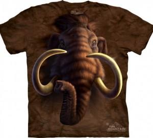 Футболка The Mountain Mammoth Head - Мамонт