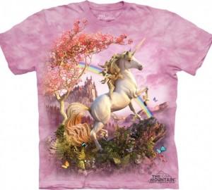 Футболка The Mountain Awesome Unicorn - Единорог