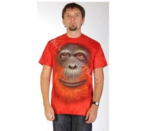 Футболка The Mountain Orangutan Face - Морда орангутана