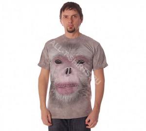 Футболка The Mountain Big Face Snub Nose Monkey