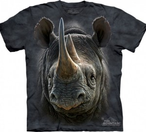 Футболка The Mountain Black Rhino - Носорог