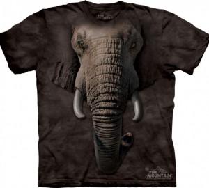 Футболка The Mountain Elephant Face - Морда слона
