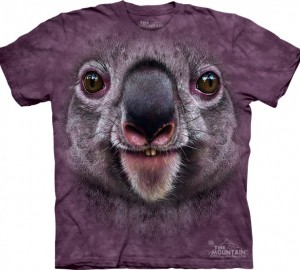 Футболка The Mountain Koala Face - Морда коалы