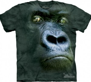 Футболка The Mountain Silverback Portrait - Портрет обезьяны