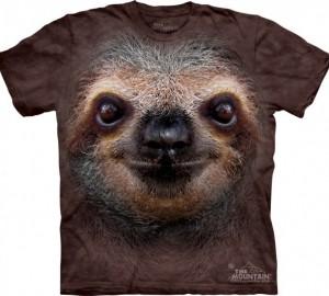 Футболка The Mountain Sloth Face - Морда ленивца