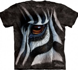 Футболка The Mountain Zebra Eye - Зебра