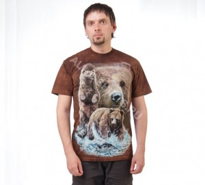 Футболка The Mountain Find 10 Brown Bears - Найди 10 медведей