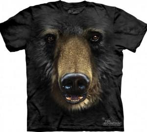 Футболка The Mountain Black Bear Face - Медвежья морда