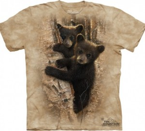 Футболка The Mountain Curious Cubs - Любознательные медвежата