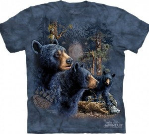 Футболка The Mountain Find 13 Black Bears - Найди 13 медведей