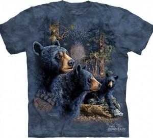 Футболка The Mountain Find 13 Black Bears - Найди 13 медведей