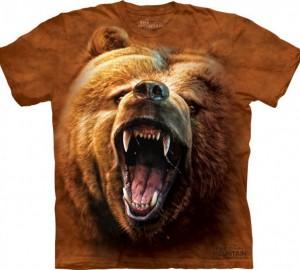 Футболка The Mountain Grizzly Growl - Рычащий Гризли