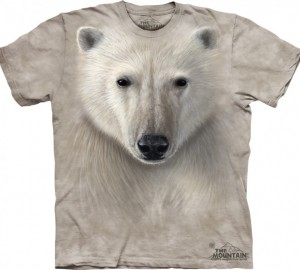 Футболка The Mountain Polar Warrior - Медведь полярный воин