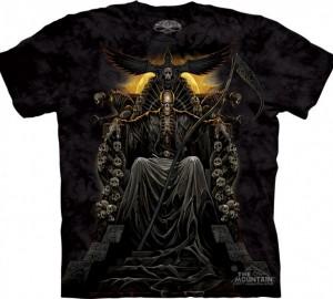 Футболка Skulbone Death Throne - Мертвец на троне
